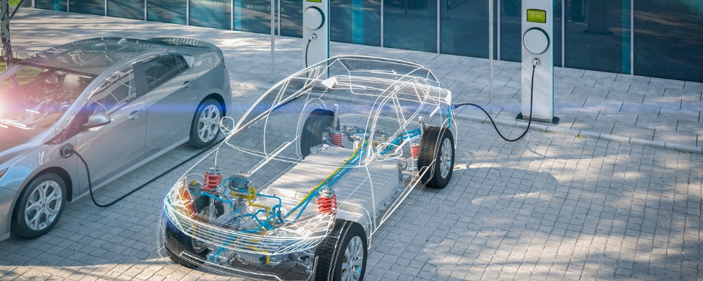 generic-electric-car-with-battery-visible-xray-charging-at-public-in-picture